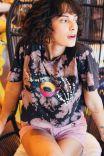 T-shirt Dark Coffee Tie Dye