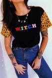 T-shirt Onça Witch