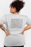 Camiseta T-shirt PLUS Carta Coração THE HEART