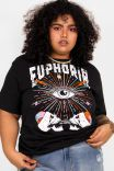 Camiseta T-shirt PLUS Euphoria