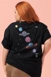Camiseta T-shirt PLUS Planetas