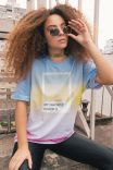T-shirt Unisex Degrade Favorite Color