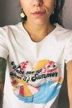 T-shirt Wake Me Up When It's Summer