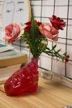 Vaso Decor Coração Vermelho