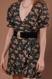 Vestido Envelope Bufante Floralia