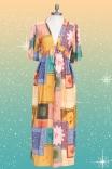 Vestido Kimono Bandana Astral
