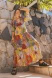 Vestido Marias Mix Flower Power