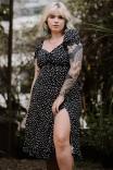 Vestido Midi Chita Chique