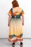 Vestido Midi Lastex Horizonte
