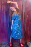 Vestido Midi Manguinha Cosmico