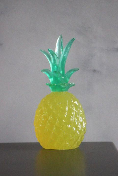 Adorno Decorativo Abacaxi Amarelo