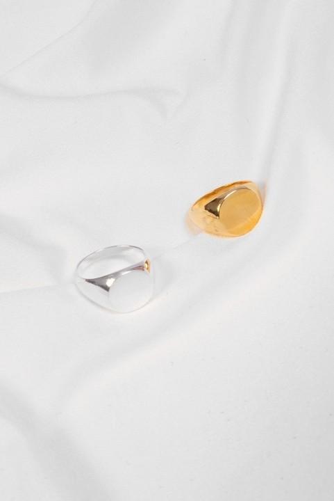 Anel de Dedinho Liso - Dourado