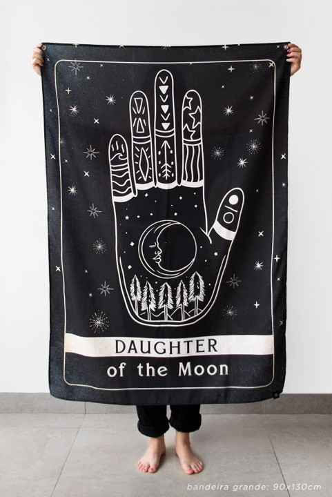 Bandeira De Parede Daughter Of The Moon