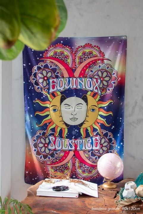 Bandeira De Parede Equinox & Solstice