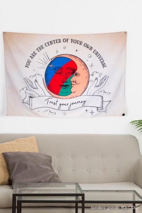 Bandeira De Parede Journey