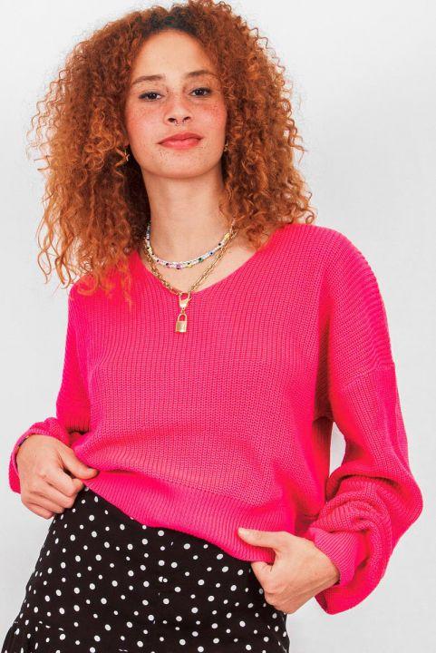 Blusa Tricot Nadia Pink