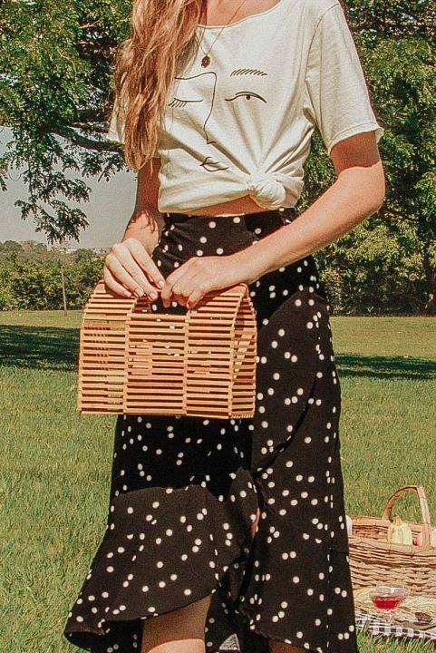 Bolsa Estruturada Contas Wood