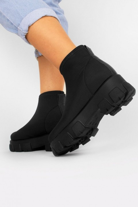Bota Knit Sock Letícia