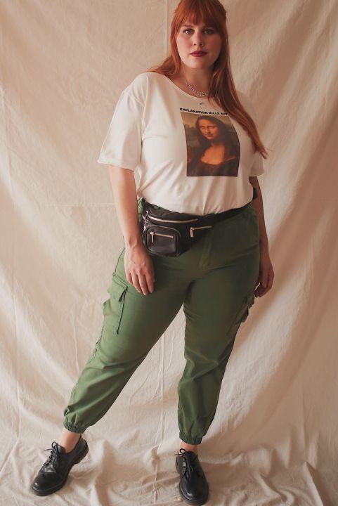 Calça Cargo Joana - Verde