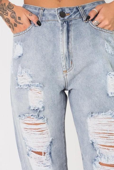 Calça Mom Jeans Destroyed - Clara