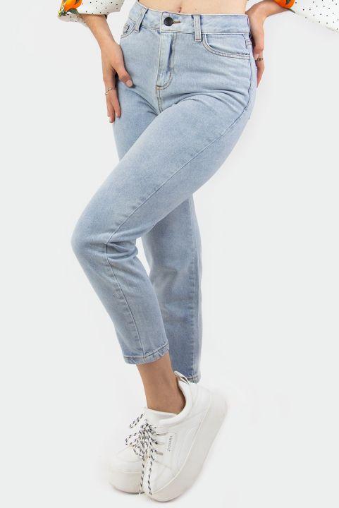 Calça Mom Vintage Jeans Claro