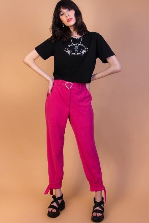 Calça Pink C/ Coração