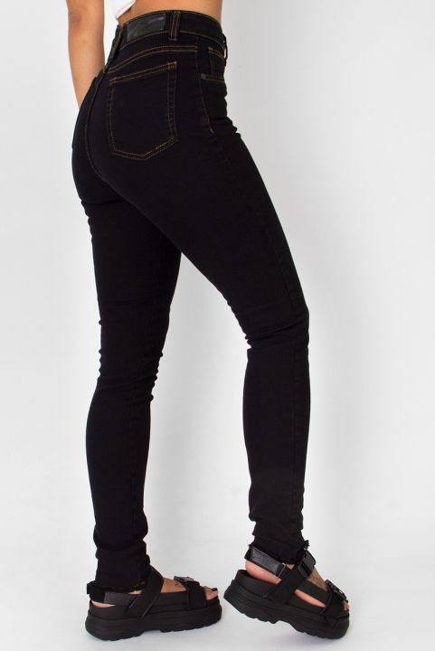 Calça Skinny Jeans Preta