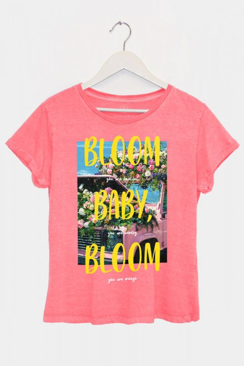 Camiseta Baby Look Buquê Baby, Bloom