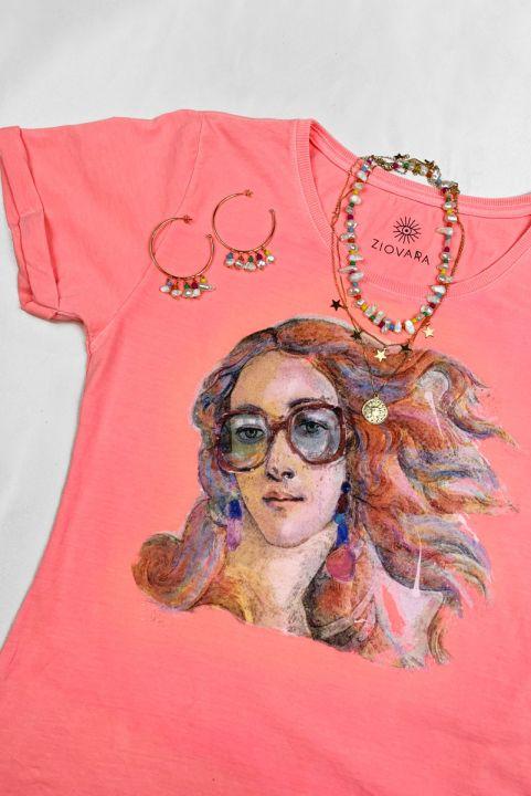Camiseta Babylook PLUS Venus Hipster