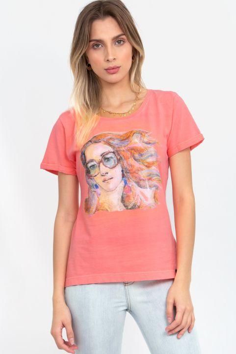 Camiseta Baby Look Venus Hipster