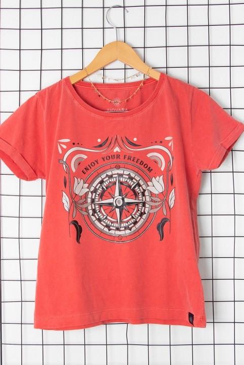 Camiseta Babylook Bússola Enjoy