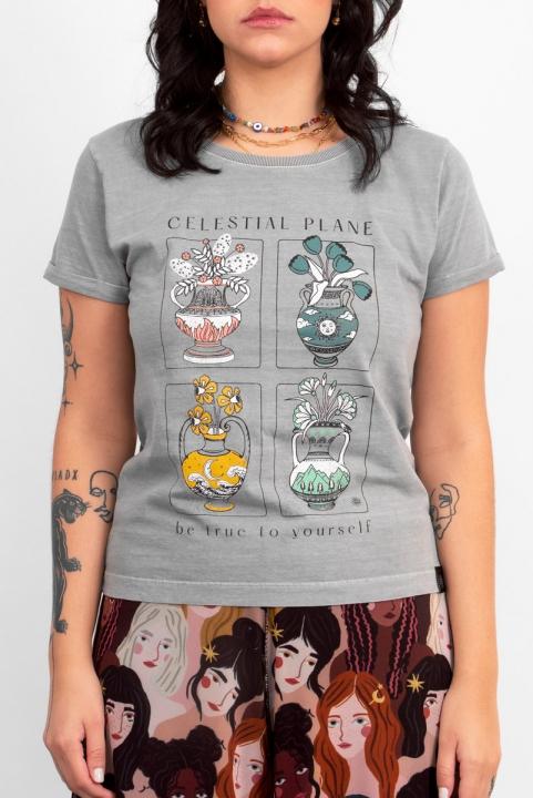 Camiseta Babylook Celestial