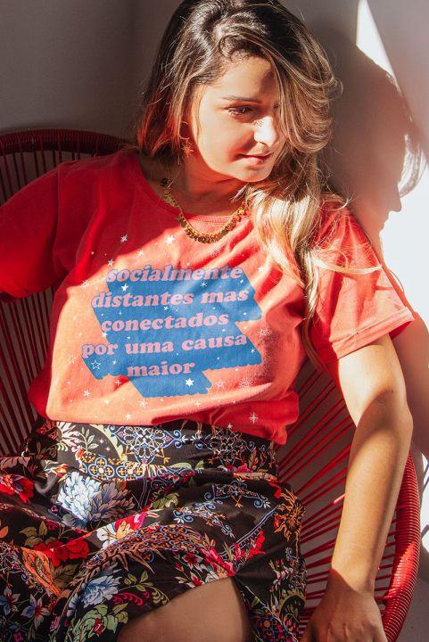 Camiseta Babylook PLUS Conectados