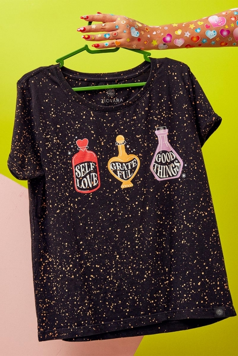 Camiseta Babylook Wish Bottle