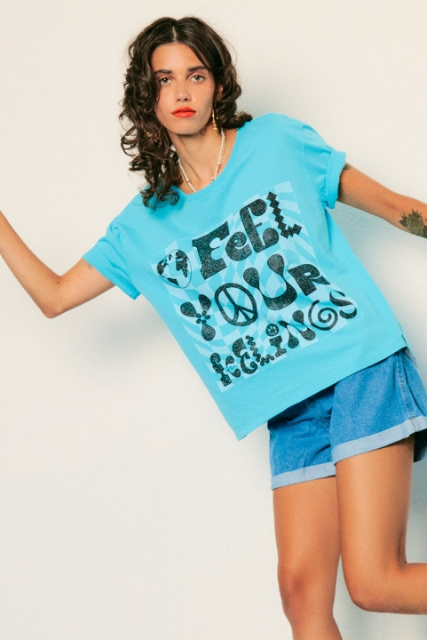 Camiseta Box Feel Your Feelings