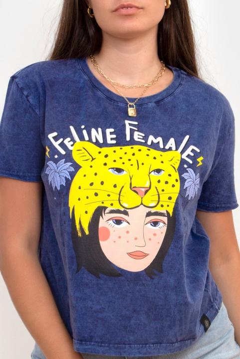 Camiseta Box Feline Female