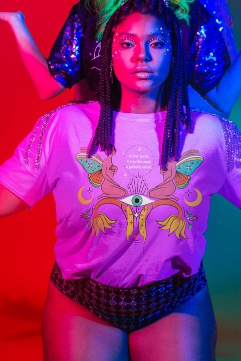Camiseta Box PLUS Fada Free Spirit
