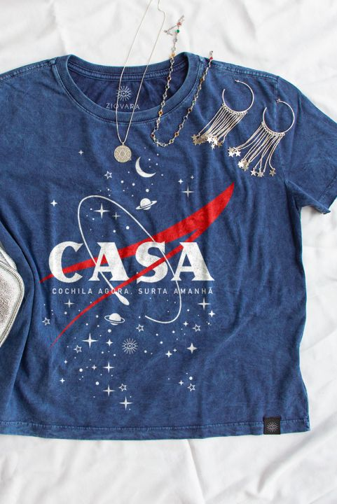 Camiseta Box PLUS Sky Em Casa