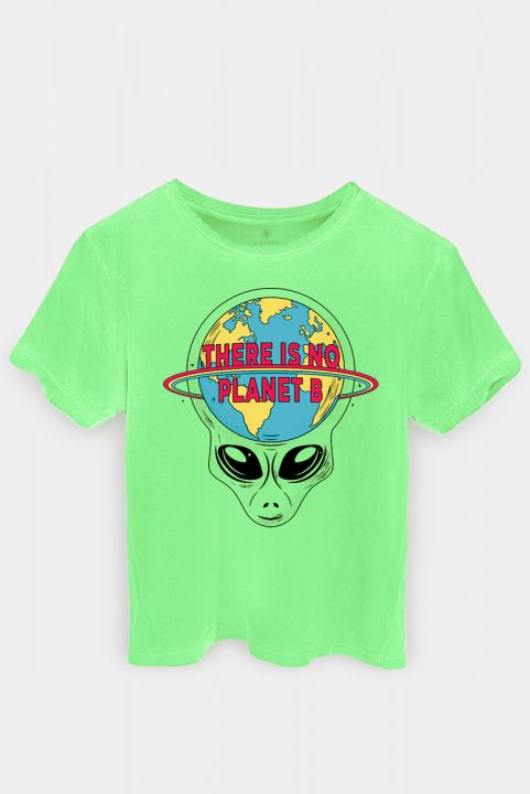 Camiseta T-shirt Alien Planet