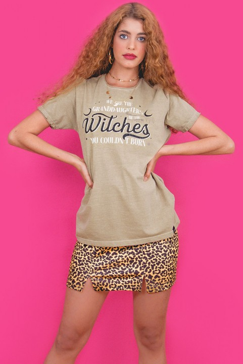 Camiseta T-shirt Areia Witches