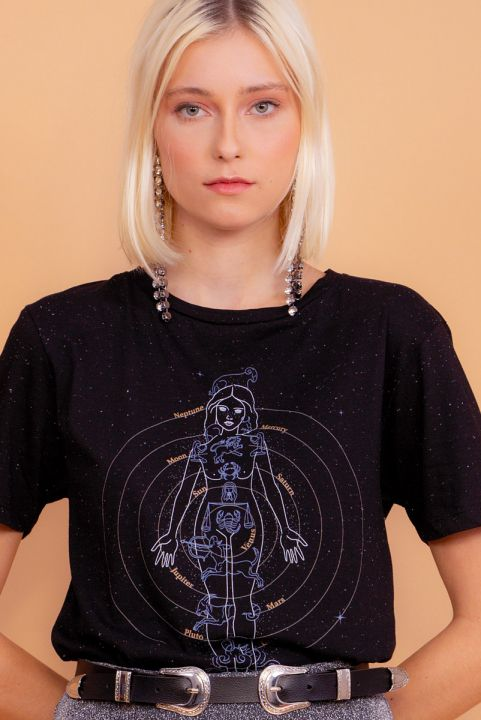 Camiseta T-shirt Astrological Body