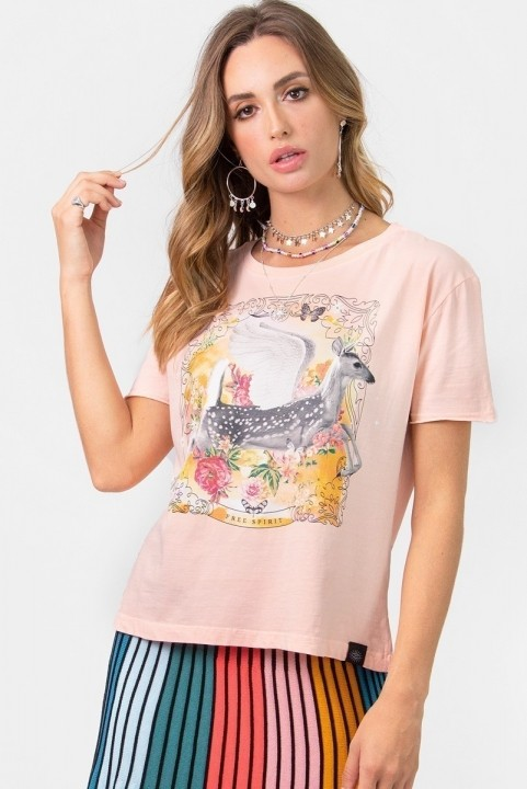 Camiseta T-shirt Bambi Free