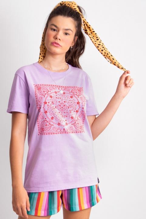 Camiseta T-shirt Bandana