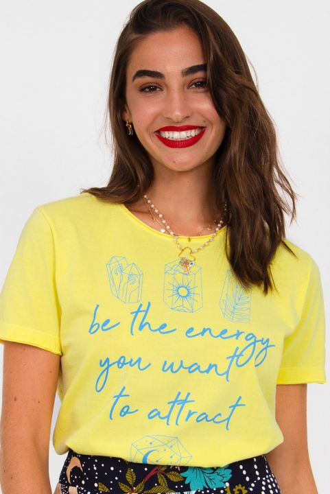 Camiseta T-shirt Be The Energy