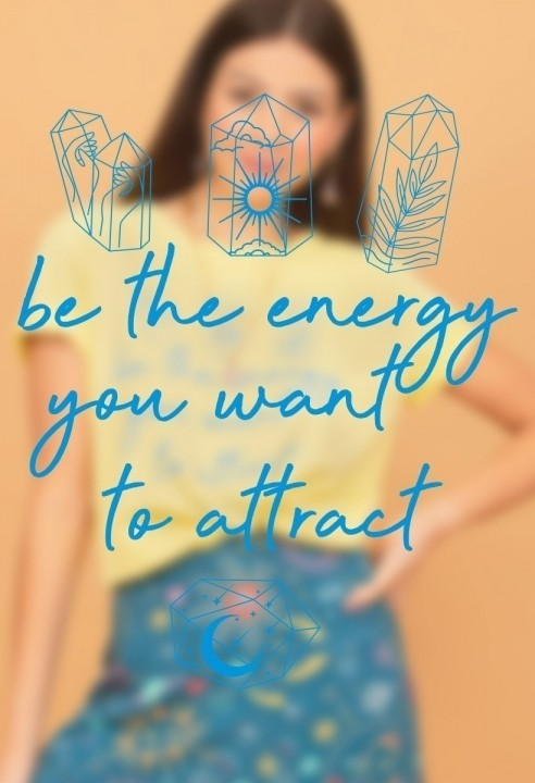 Camiseta T-shirt Be The Energy