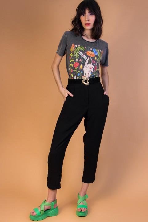 Camiseta T-shirt Botânica Escura (NEW)