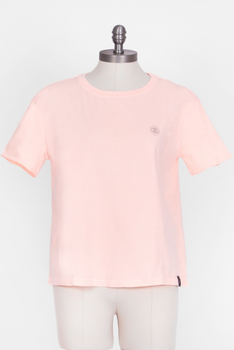 Camiseta T-shirt Box Logo Coral