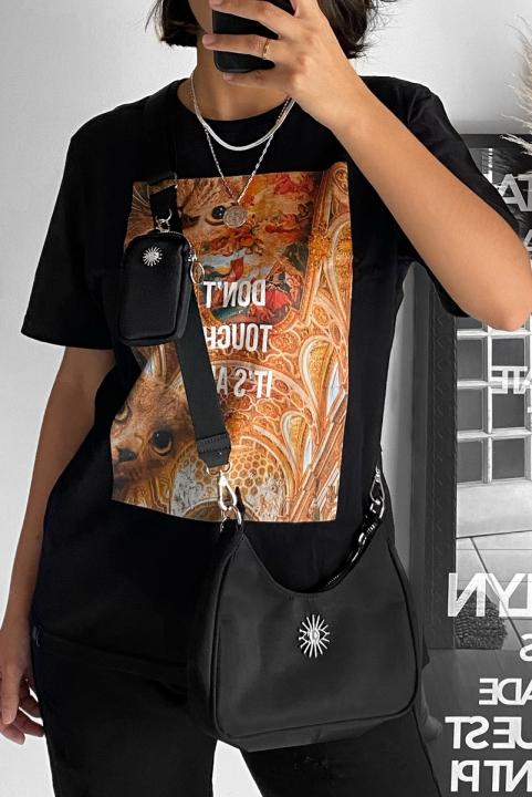 Camiseta T-shirt Don´t Touch Gato