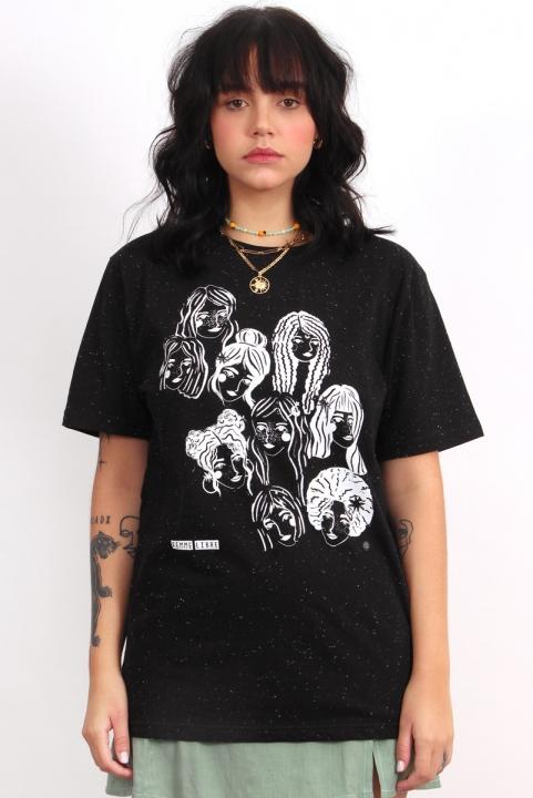 Camiseta T-shirt Femme Libre