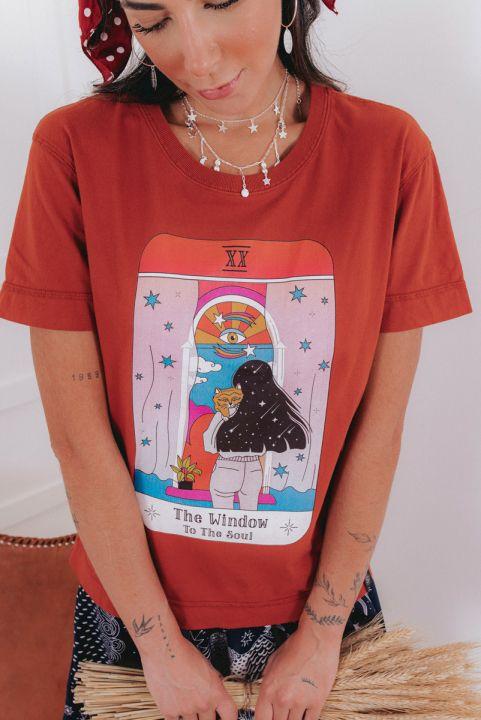 PRÉ-VENDA Camiseta T-shirt Janela
